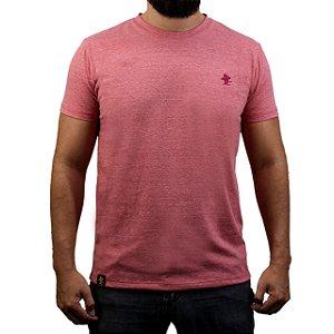 Camiseta Sacudido's - Básica - Vermelho Mescla