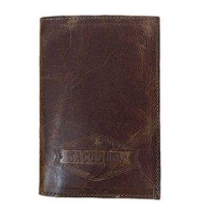 Porta Passaporte Sacudido's - Np Estonado Caramelo