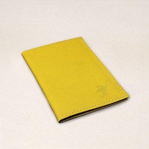 Porta Cartão Sacudido's - Napa Amarela