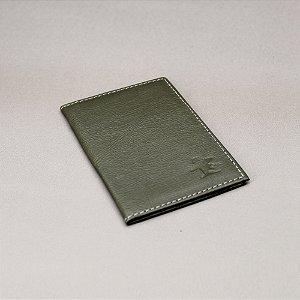 Porta Cartão Sacudido's - Napa Verde Musgo
