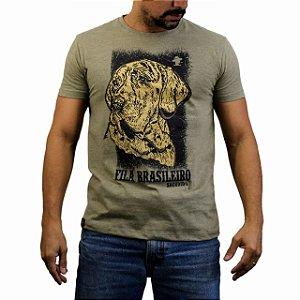 Camiseta Sacudido´s - Fila Brasileiro- Charuto mescla