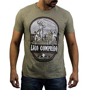 Camiseta Sacudido´s - Laço Comprido - Charuto mescla