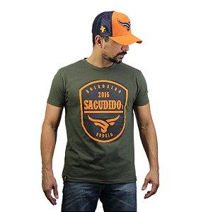 Camiseta Sacudido's - Boiadeiro - Verde Musgo