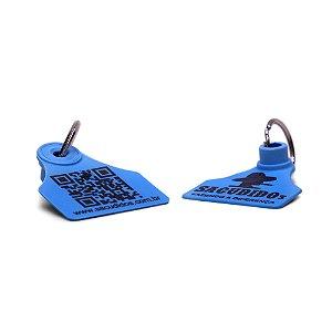 Chaveiro Brinco de Boi Sacudido´s - Azul