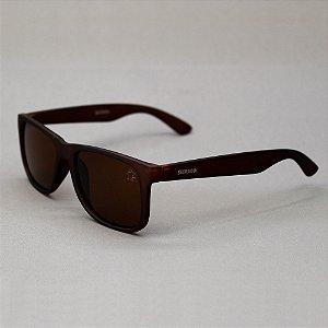 Óculos Sacudido´s - Marrom Liso - Lente Marrom