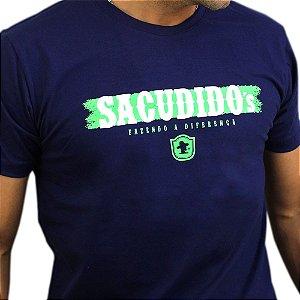 Camiseta Sacudido´s - Assinatura - Marinho