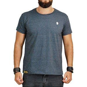 Camiseta Sacudido's - Básica - Chumbo Mescla e Off