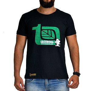 Camiseta Sacudido's - Técnico Agropecuária - Preto