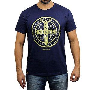 Camiseta Sacudido's - São Bento - Marinho