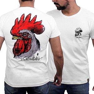 Camiseta Sacudido's - Galo Costas - Marfim
