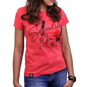 Camiseta Sacudido's Feminina - Ferradura - Pimenta