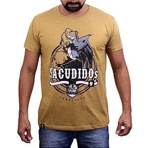 Camiseta Sacudido´s - Luva de Vaquejada - Trigo