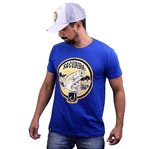 Camiseta Sacudido´s - Pesca - Real Blue