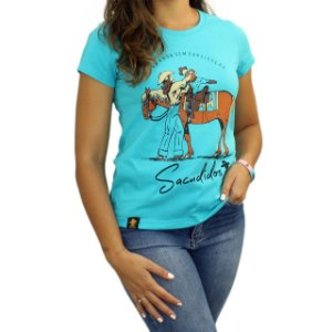 Camiseta Sacudido's Feminina - Amor de Mãe - Wave