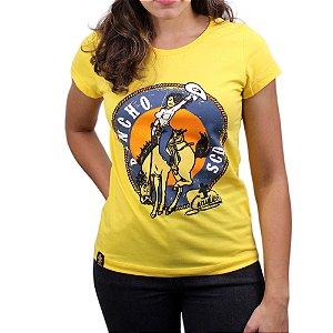 Camiseta Sacudido's Feminina - Rancho SCD -Seleção