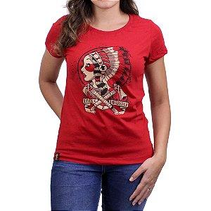 Camiseta Sacudido's Feminina - Índia - Rubro