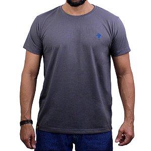 Camiseta Sacudido's - Básica - Cinza Boss /Nautico
