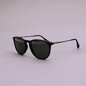 Óculos Sacudido´s - Preto Fosco Redondo