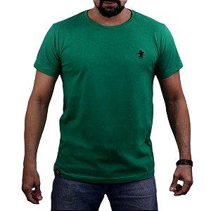 Camiseta Sacudido's - Básica -Verde Bandeira/Preto