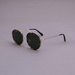 Óculos Sacudido´s - Metal Redondo - Tartaruga