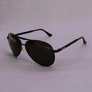 Óculos Sacudido´s - Aviador - Preto - Haste Chata