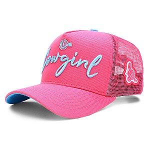 Boné Bão Nu Mundo - Cowgirl - Pink