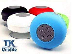 Caixinha De Som Portátil Bluetooth Prova De água.