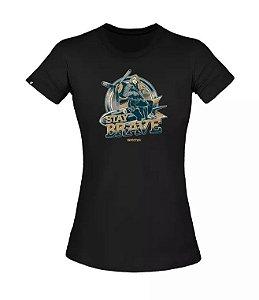 T-Shirt Concept Brave Girl - Invictus