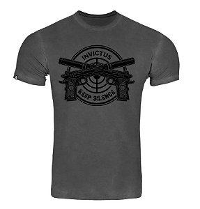 T-Shirt Concept Keep Silence - Invictus