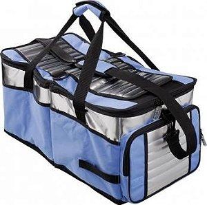 Bolsa Térmica Ice Cooler 48L Azul Mor