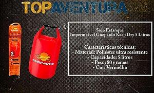 Saco Estanque Keep Dry 5L - Guepardo