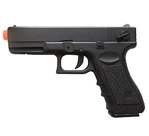 Pistola de Airsoft CM30 Glock Elétrica Cyma ActionX