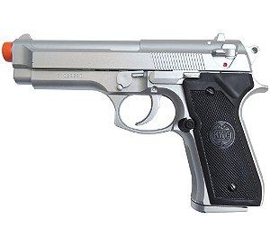 Pistola de Airsoft M92-2 SILVER Spring KWC ActionX