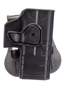 Coldre (SC004) Destro de Cintura em Polímero para Glock - Só Coldres