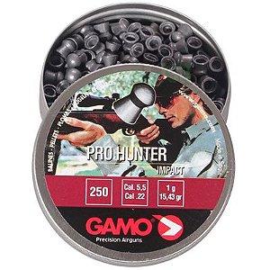 Chumbinho Pro Hunter 5,5mm-  250 Unidades Gamo