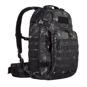 Mochila Mission 45L Camuflado Multicam Black Invictus