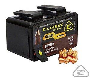 Chumbinho Cal. 5,5 mm Jumbo Cobreado Combat