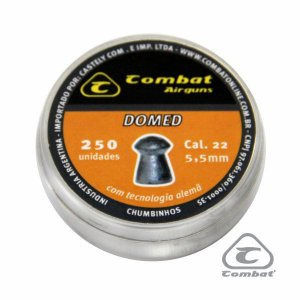 Chumbinho Cal. 5,5 mm Domed Combat