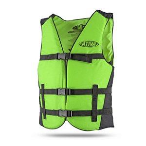 Colete Salva-Vidas Canoa para 80kg Ativa