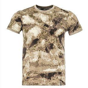 T-Shirt Tech Camuflado A-Tacs Invictus