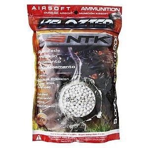 Esferas Plásticas BBs para Airsoft 5000un. 0,20g Velozter NTK