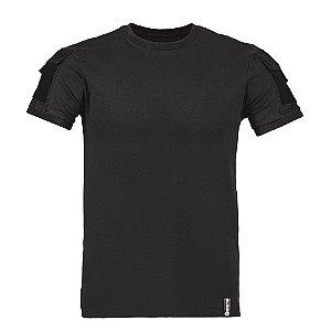 Camiseta T-Shirt Army Preta Invictus