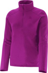 Blusa Polar Zip Feminina Salomon