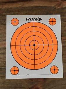 Alvo de papel cartão c/ 10 unidades 150mm x 170mm Rifle