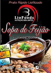 Refeição Sopa De Feijão Com Macarrão Liofoods NTK