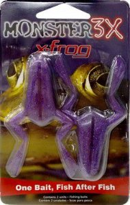 ISCA ARTIFICIAL X-FROG 2 UNIDADES MONSTER 3X
