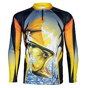 Camiseta Sublimada Dourado - King Brasil