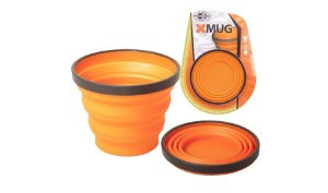 Caneca Retrátil X-MUG Laranja - SEA TO SUMMIT