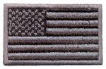 Patch Bandeira USA Negativa Média
