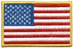 Patch Bandeira USA Oficial Grande